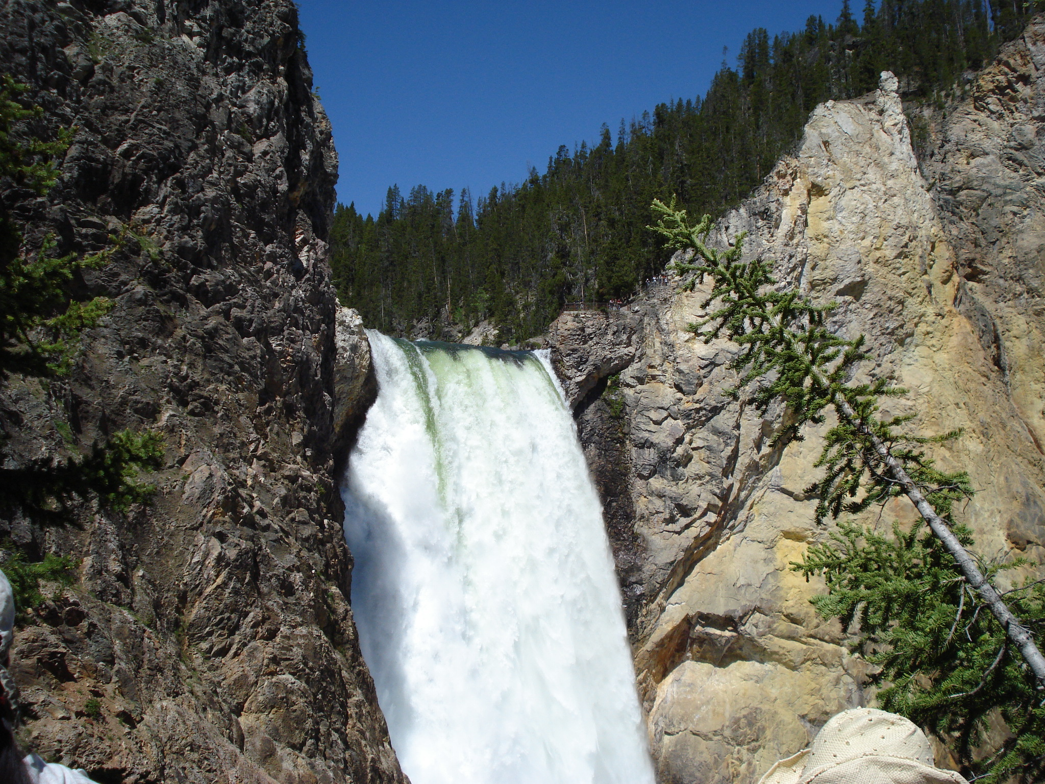 Waterfalls in Yellowstone are Beautiful