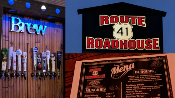 New Name – New Menu – New Decor – Route 41 Roadhouse – Wadsworth, IL