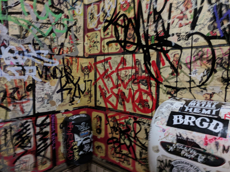 Graffiti at Kuma's Chicago