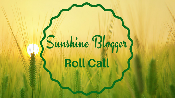 Sunshine Blogger's Roll Call