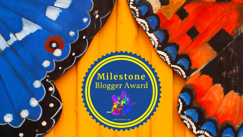 Milestone Blogger Award 795x447